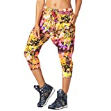 Zumba Fitness Damen Rock Out Cropped Harem Dance Pants Fitness Overalls und Bodies Frauenhosen, Shocking Pink, M