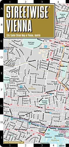 Plan StreetWise Vienne par Michelin