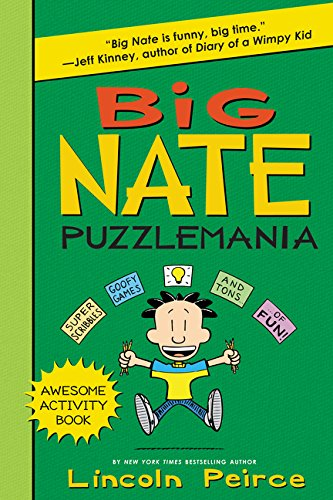Big Nate Puzzlemania (Big Nate Activity Book)