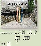 ALLEGRA 2 - arrangiert für Sopranblockflöte [Noten / Sheetmusic] Komponist: SCHMID CLAIRE