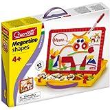 Quercetti 13/5244 - Estuche con pizarra magnética con formas