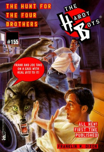 the-hunt-for-four-brothers-hardy-boys-book-155-english-edition