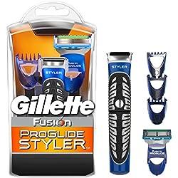 Gillette Fusion ProGlide Styler - Maquinilla multiusos, afeitar, recortadora, afeitadora, perfiladora