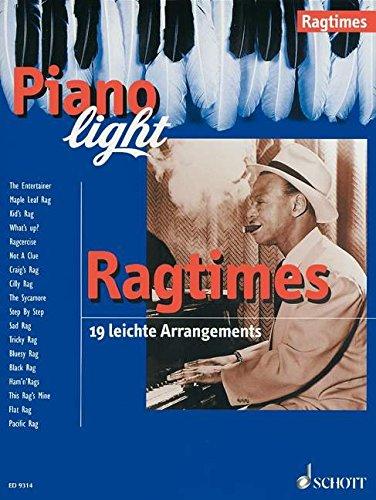 Preisvergleich Produktbild Ragtimes: 19 leichte Arrangements. Klavier. (Piano light)