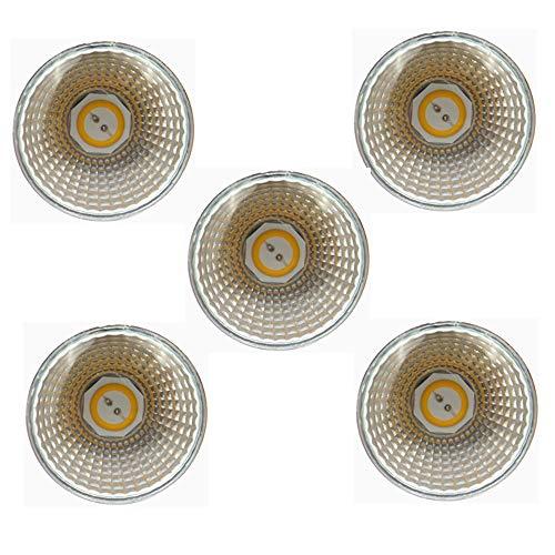 12v Ac Motion Sensor (RZL LED Lights, MR16 LED-Birnen 5W, 12V AC-Niederspannung, 50W-Halogen-Ersatzäquivalent, GU5.3-Sockel, 3000K / 6000K, Nicht-Dimmbar, 45 Grad Abstrahlwinkel, 5er-Pack (Farbe : Warmweiß))