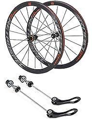 ZNND 27.5 Pulgadas Bicicleta De Carretera Ruedas, Doble Pared V-Brake Ultra- Ligeras