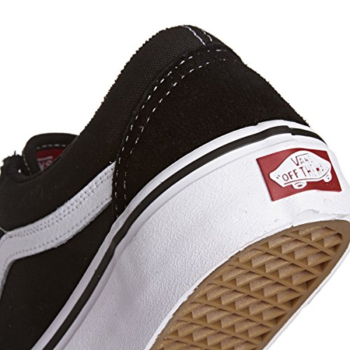 Chaussures Old Skool Pro Vans Pro Skate - Rouge Dark Black