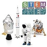 Lehoo Castle Building Blocks Giocattoli per Bambini di 5-8 Anni, Giocattoli educativi per Bambini, Giocattoli Giocattolo con Space Shuttle, Giocattoli da Costruzione per Bambini