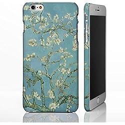 Coque pour téléphones iPhone - Collection art classique Coque inspirée de peintures célèbres., plastique, Almond Blossom - Vincent Van Gogh, iPhone 6 / 6S