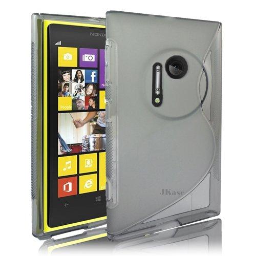 JKase schmalem Streamline Ultra Durable TPU Schutzhülle für Nokia Lumia 1020-Verkaufsverpackung Seidio Convert Holster