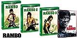 RAMBO La Trilogia 1-2-3 + John Rambo (4 DVD) In Italiano