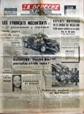 Telecharger Livres DEPECHE LA No 6602 du 16 05 1964 APRES LES DECISIONS RELATIVES AUX SALAIRES DES NATIONALISES LES SYNDICATS MECONTENTS LE GOUVERNEMENT A SIMPLEMENT VOULU GAGNER DU TEMPS ET REPOUSSER A L AUTOMNE LES RENDEZ VOUS PREVUS PERTURBATIONS DANS LES PTT AUJOURD HUI ENCORE BAISSE NATIONALE SUR LES PATES PANZANI POUR LES CONDUCTEURS FRANCAIS 2 ANS 40000KM DE GARANTIE MOTEUR BOITE DE VITESSES ET PONT ARRIERE SA FUITE PRECIPITEE AU CANADA LES RESULTATS NEGATIFS DES EXPERTISES NAESSENS L HEURE DES (PDF,EPUB,MOBI) gratuits en Francaise