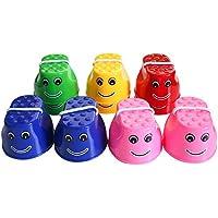 Aikesi Juguetes para niños Niños Zancos Sonrisas Sorgo Colores Aleatorios