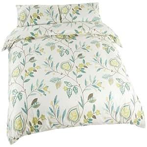 Adara parure de lit avec housse de couette double couleur for Amazon housse de couette