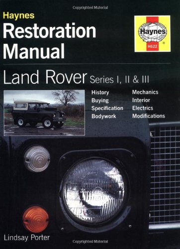 Land Rover Series I, II and III Restoration Manual (Haynes Restoration Manuals) por Lindsay Porter