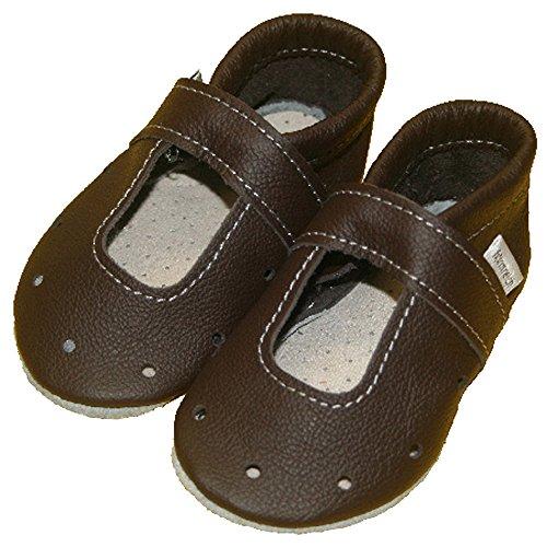 Sandales mules babysommerschuhe formreich à 42 (marron) Marron - Marron