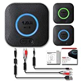 1Mii Reiie B06 - Ricevitore audio Bluetooth alta fedeltà Hi-Fi con supporto APT-X Low Latency e 3D Surround per streaming di musica e audio