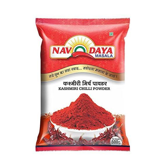 Navodaya Masala Kashmiri Chilli Powder, 500g