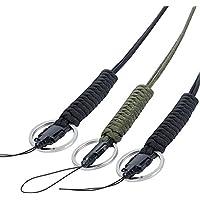EOTW Cuerda Lanyard de Paracaídas Súper Fuerte, Paracord para Usar en el Hogar, General al Aire Libre, Sobrevivencia, Acampar, Excursiones de Caminata,Caminar con Perro y más. (3 Pack)