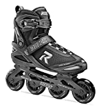 Roces Erwachsene PIC Inline Skates, Black/Silver, 44