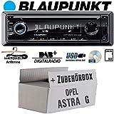 Opel Astra G - Radio BLAUPUNKT Dortmund 230 DAB - DAB+ | CD | USB Autoradio - Einbauset