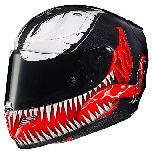 Preisvergleich Produktbild HJC RPHA 11 Pro Marvel Venom Helm MC-1 (Schwarz,  Medium)