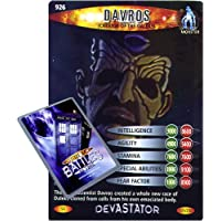 Doctor Who Single Card : Devastator 101 (926) Davros Creator of the Daleks Dr Who Battles in Time Super Rare Card