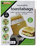 Toastabags 50 Use Pack, Gold, Pack of 10-P