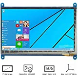 REES52 HDMI Display Monitor(7-Inch 800x480 HD) TFT LCD with Touch Screen for Raspberry Pi B+