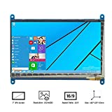 #6: REES52 HDMI Display Monitor(7-Inch 800x480 HD) TFT LCD with Touch Screen for Raspberry Pi B+