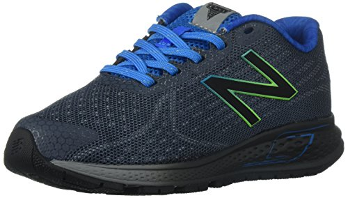 New Balance Boys' Vazee Rush Running-Shoes, Grey/Blue, 13 W US Little Kid (New Balance-13w)