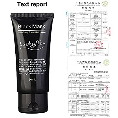 Blackhead Mask LuckyFine Peel-off Mask Blackheads Remover Cleaning