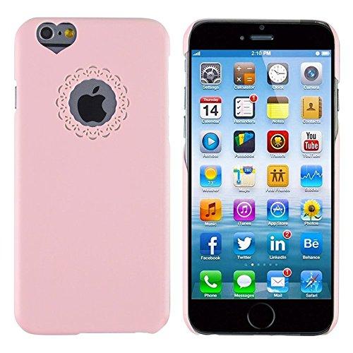 ChannelExpert Mint Grün Clip on Tasche Case Cover Hülle Handyschale Handytasche Handyhülle Schutz für Apple iPhone 6 / 6S rosa
