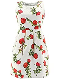Shikha London Kleid ROSES EMBROIDERY DRESS 5251
