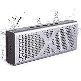 Keedox® Bluetooth Altavoz Inalámbrico Portátil Resistente al Agua y Polvo, con Micrófono Incorporado, Manos Libres para móviles, tabletas, ordenadores portátiles, con Batería Recargable de 15 horas de Reproducción