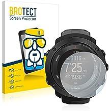 BROTECT AirGlass Protector Pantalla Cristal Flexible Transparente para Suunto Ambit3 Vertical Black Protector Cristal Vidrio - Extra-Duro, Ultra-Ligero, Ultra-Claro