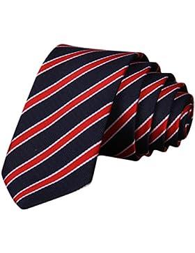 MIOIM® Corbata Jacquard Tejido Clásico Cuadros Poliéster Tejido Corbata para Hombre Negocio Informal