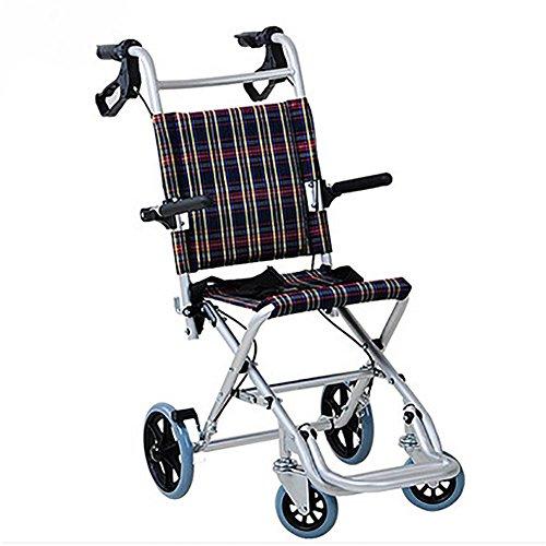 G&M Rollstuhl, Falten, Leichtgewicht, Kind, Älterer, Leichtgewicht, Roller, Portabel, Reise, Flugzeugwagen, Ältere Menschen , 36cm