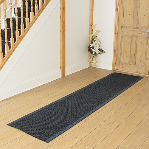 MADE TO MEASURE CARPET RUNNER - Aztec Blue - Long Hall & Stair Carpet Runner