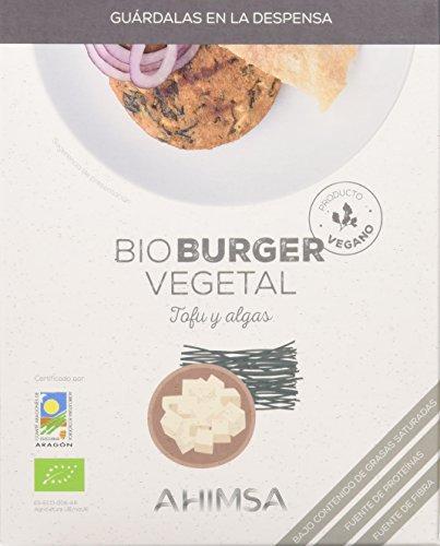 Ahimsa Hamburguesas Vegetales de Larga Duración - Paquete de 12 x 160 gr - Total: 1920 gr