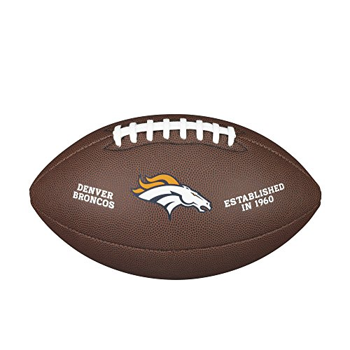Wilson NFL Denver Broncos Full Size Composite Football by Wilson