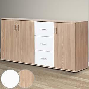 kommode schubladenschrank schubladenkommode in zwei. Black Bedroom Furniture Sets. Home Design Ideas
