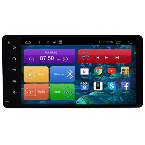 Top Navi 7inch 1024*600 Android 4.4.4 Car PC Player for
