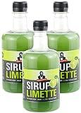 Sirup Royale mit Limetten-Geschmack, 3x 0,5 Liter, PET-Flaschen
