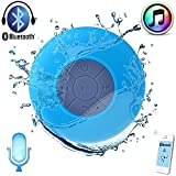 #8: Toykart® Water Proof Bluetooth Shower Speaker With Mic Wireless Portable Stereo - Best for Bath, Pool, Car, Beach, Indoor/Outdoor Use (Multi colors )