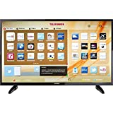 Telefunken LED-TV 110 cm 43 Zoll B43U446A EEK A+ DVB-T2, DVB-C, DVB-S, UHD, Smart TV, WLAN, CI+ Sch