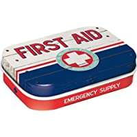 Preisvergleich für Nostalgic-Art 81320 Nostalgic Pharmacy - First Aid Blue - Emergency Supply, Pillendose