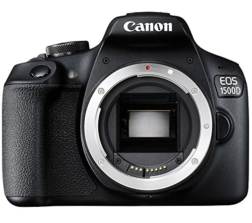 Canon EOS 1500D 24.1MP Digital SLR Camera (Black)