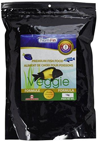 Northfin Lebensmittel Gemüse-Formel 3mm Pellet 1kg Paket -