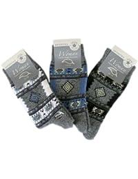 6 Paar Damen Thermo Socken - Vollfrottee (5505)